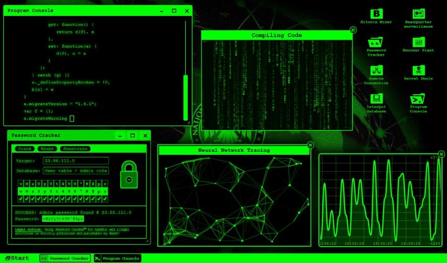 GeekPrank Hacker Screen - The Best Hacker Simulator